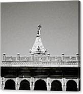 The Small Temple Canvas Print