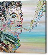 The Smoker Canvas Print