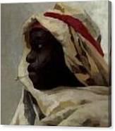 The Smoking Moor Canvas Print