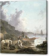 The Smugglers, 1792 Canvas Print