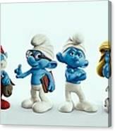 The Smurfs Movie Canvas Print