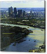 The Snaking River Thames Canvas Print