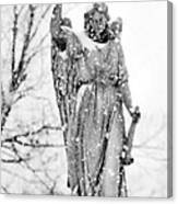 The Snow Angel Canvas Print