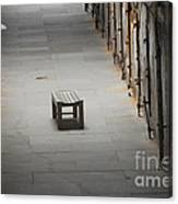 The Solitary Seat Canvas Print