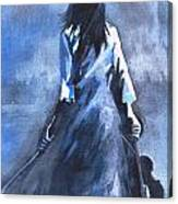 The Solo Performer Canvas Print