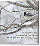 The Song Of The Birds Canvas Print