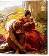 The Sonnet, C.1839 Canvas Print
