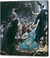 The Souls Of Acheron Canvas Print