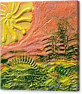 The Sound Of Sunshine Canvas Print