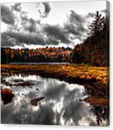 The South End Of Cary Lake Canvas Print