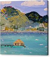 The South Seas Canvas Print