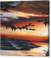 The Southern Marsh Canvas Print