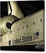 The Space Shuttle Endeavour 12 Canvas Print
