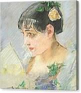 The Spanish Woman Canvas Print