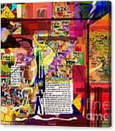 The Spherah Tiferet 9 Canvas Print