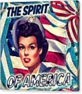 The Spirit Of America Canvas Print