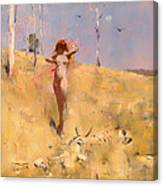 The Spirit Of The Drought Canvas Print