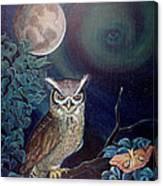 The Spirit Of The Night Canvas Print