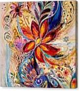 The Splash Of Life 5 Canvas Print