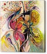 The Splash Of Life Series No 3 Canvas Print
