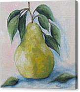 The Spring Pear Canvas Print