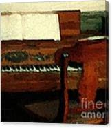 The Square Piano Canvas Print