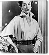 The Square Ring, Kay Kendall, 1953 Canvas Print
