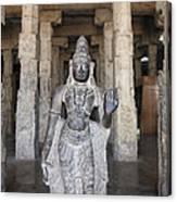 The Sri Meenakshi Temple Canvas Print