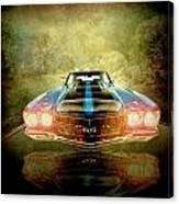 The Ss Car Canvas Print