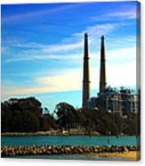The Stacks Moss Landing Ca Canvas Print