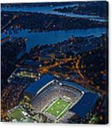 Husky Stadium At Dusk Canvas Print