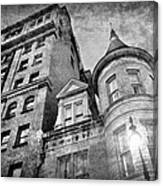 The Stafford Hotel - Grayscale Canvas Print