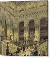 The Staircase Of The Opera Canvas Print