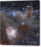 The Star-forming Region Ngc 2024 Canvas Print