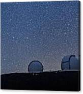 The Stars Above Keck Canvas Print