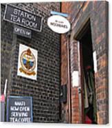 The Station Tea Room Canvas Print