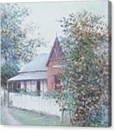 The Stationmaster's Cottage Canvas Print