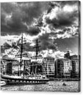 The Stavros N Niarchos London Canvas Print
