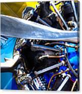 The Stearman Jacobs Aircraft Engine Canvas Print