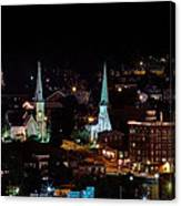 The Steeple City Canvas Print