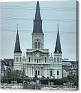 The St.louis Cathedral Canvas Print