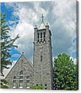 The Stone Church Canvas Print