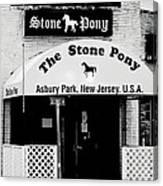 The Stone Pony Asbury Park NJ Canvas Print