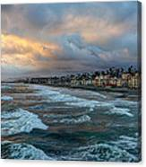 The Storm Clouds Roll In Canvas Print