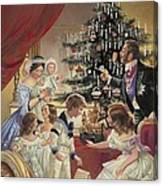 The Story Of The Christmas Tree Canvas Print