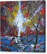 The Stream Of Light Canvas Print