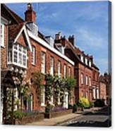 The Streets Of Winchester England Canvas Print