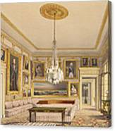 The Striped Drawing Room, Apsley House Canvas Print