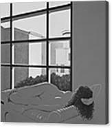 The Studio Window Canvas Print