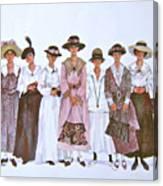 The Suffragettes Canvas Print